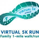 Virtual 5K Run; 1mile walk/run @ Virtual Run